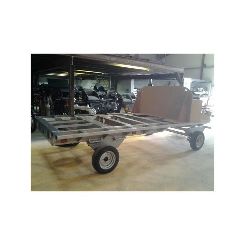 plateau de roulotte hippomobile en aluminium chassis roulotte hippomobile tracthorse. Black Bedroom Furniture Sets. Home Design Ideas