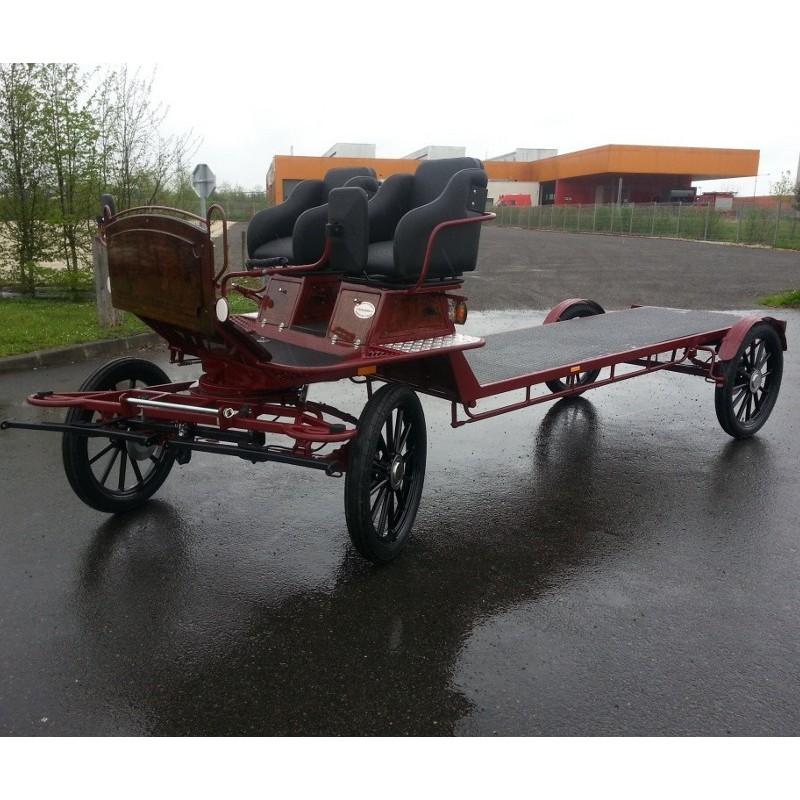 chassis de base pour roulotte hippomobile chassis roulotte hippomobile tracthorse. Black Bedroom Furniture Sets. Home Design Ideas