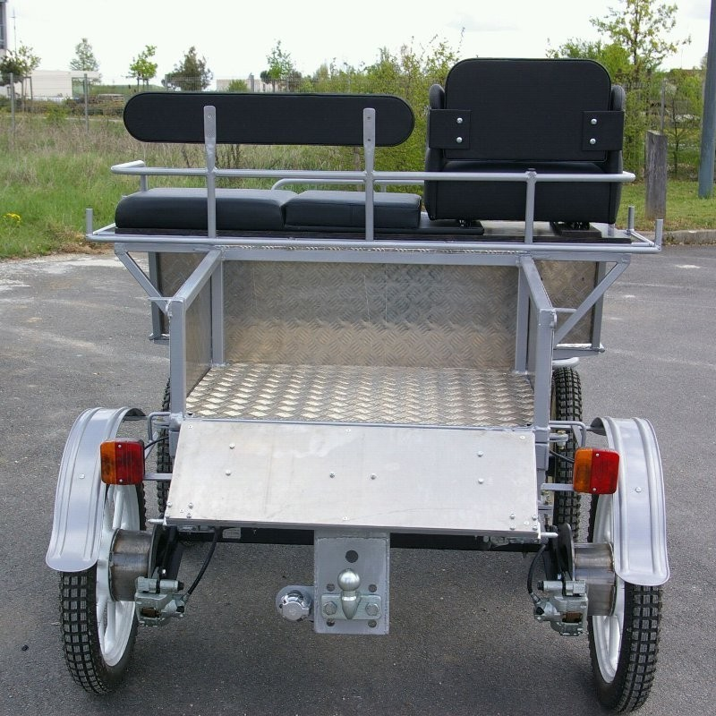 avant train hippomobile 4 roues pick up tracthorse. Black Bedroom Furniture Sets. Home Design Ideas